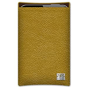 SIMON PIKECáscara Funda de móvi Boston 01 oro pour Huawei Ascend G740 cuero artificial