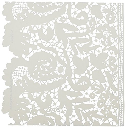 CRAFTERS WORKSHOP TCW6X6-557 Lace Template, 6 by 6