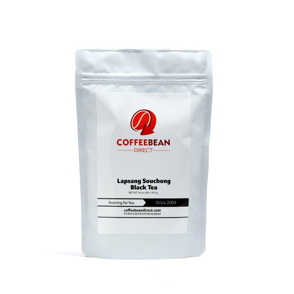 Coffee Bean Direct Lapsang Souchong Black Tea, 1-pound by Coffee Bean Direct