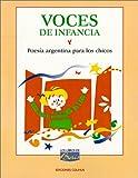 Voces de Infancia, Maria de Los Angeles Serrano, 9505812779