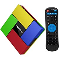 T95K Pro Android TV Box Amlogic S912 2GB/16GB Android 6.0 Marshmallow Octa Core Media Player with 4K Resolution Dual Band WiFi 2.4GHz/5GHz Bluetooth 4.0