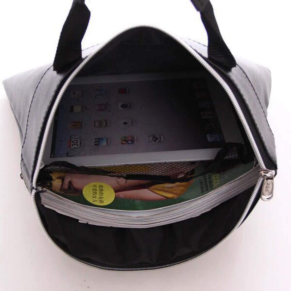 SHENWE Document Bag Business Briefcase Bag PU Leather File Holder Business Handbag for Papers, Notebooks, Files,Black
