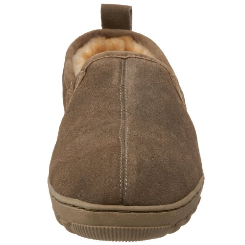 Tamarac Van Slippers Internationale Heren Cody Schapenvacht Slipper Drijfhout