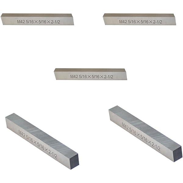 "M42 Cobalt Steel Square Lathe Tool Bits Milling Machine 1//4/""x 1//4/""x 2-1//2/"""