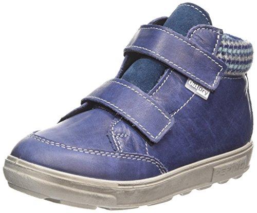 Ricosta Basti - zapatillas deportivas altas de piel niños azul - Blau (reef 153)