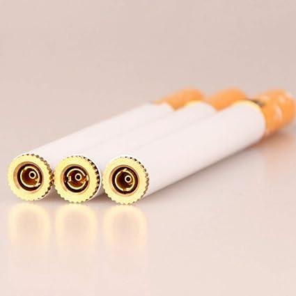 ShixinC Selten Neuheit Windfest Flamme Zigarette Form Nachf/üllbar Butangas Zigarren-Feuerzeug Hg