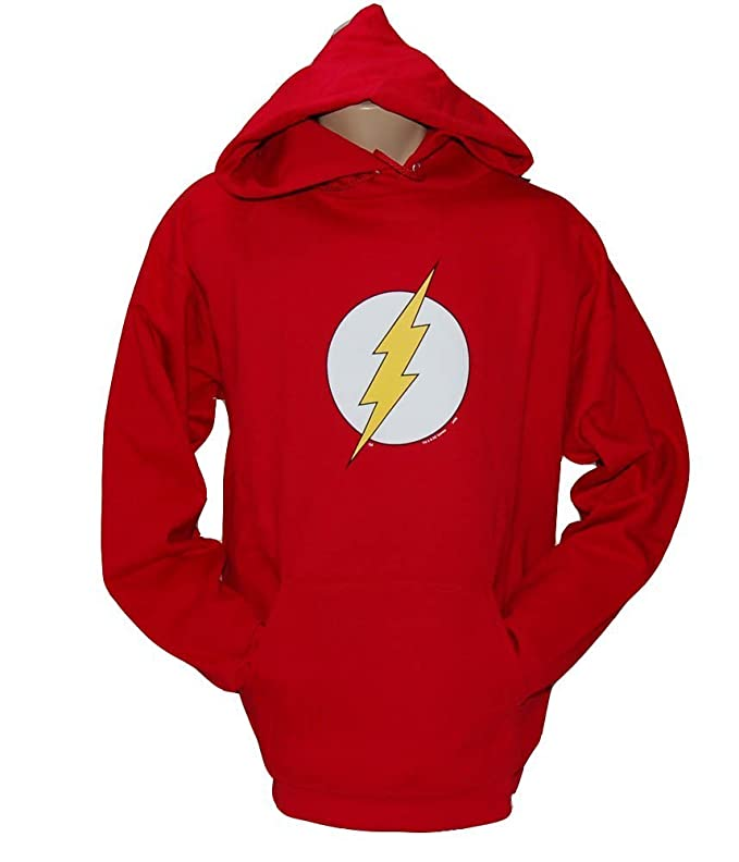 The Flash Symbol Red Hoodie