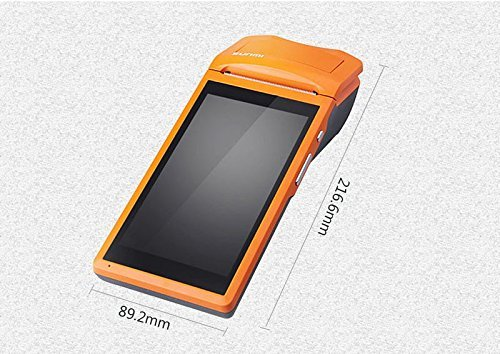 PDA 5.5 inch Touch Wifi Bluetooth Handheld Data Terminal Collector Barcode with 58mm Printer built-in by Y-SOLAR