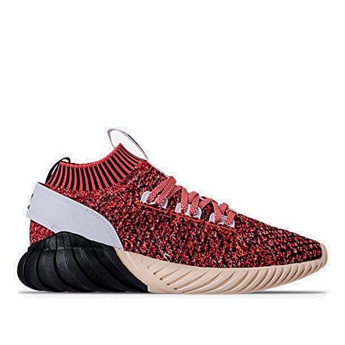 Adidas Mens Original Calzino Tubolare Doom Scarpe Pk Rosso / Nero / Bianco
