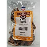 Smokehouse Knee Bones 6CT (Pack of 24)