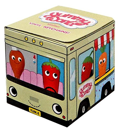 Keychain Bag Case (Yummy World Red Carpet Vinyl Keychain Mystery Box - One Blind Box by Kidrobot)
