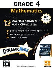 Dynamic Math Workbook - Complete Grade 4 Mathematics Curriculum (BC Edition)