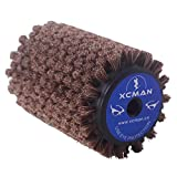 Alpine Nordic Roto Brush For Cross Country Ski Waxing Fits 10mm Hex Shaft 100mm Length (Roto Horsehair Brush)