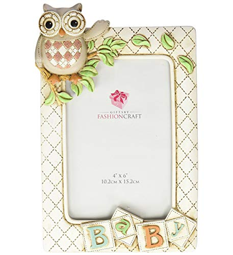 FC Baby Owl Picture Frame Vertical (6