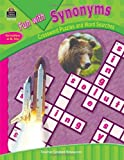 Fun with Synonyms - Crossword Puzzles and Word Searches, Teacher Created Resources Staff, 1420631454