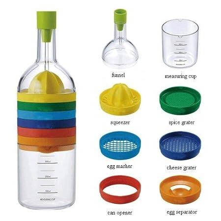 Plastic Kitchen Tool, Multicolour at amazon