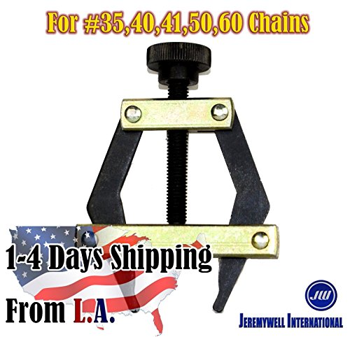 Roller Chain Puller Holder for Chain Size25, 35, 40, 41, 50, 60 ,420, 415,415H (Tool Chain Roller)