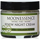Moonessence Renew Night Cream, Aha with Collagen Peptides, 2 Ounce Review