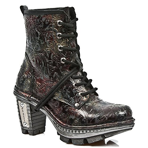 Multicolor Vintage New Neotrail Boots Patterned Rock Women Floral UTwwqd