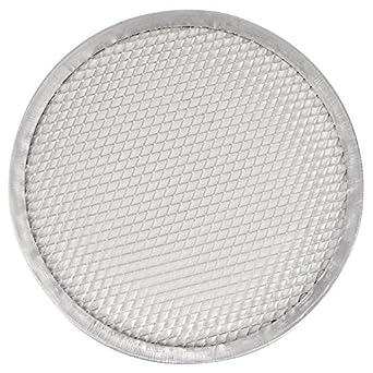 Vogue Pizza Protector de malla de alambre 12 en bandeja de horno para utensilios de cocina
