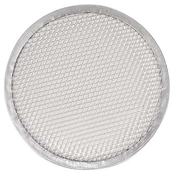 Vogue Pizza Protector de malla de alambre 12en bandeja de horno para utensilios de cocina para horno