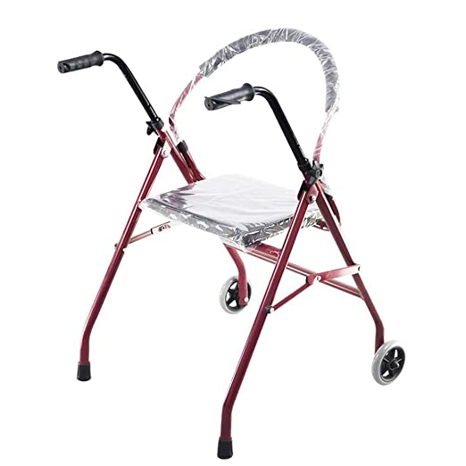 LXDDJZXQ Andador para Ancianos Walker, Andador Plegable con ...
