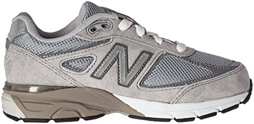 New Balance KJ990V4 Grade Running Shoe (Big Kid) Grey/Grey