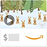 Amazon eGift Card - Christmas Bunnies (Animated) [Hallmark]