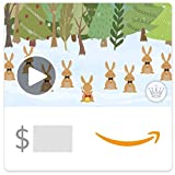 Amazon eGift Card - Christmas Bunnies (Animated) [Hallmark]