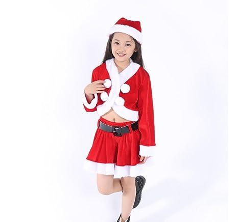 Sconosciuto Spettacolo di Natale per Bambini Costumi Vestiti per Bambini  Vestiti da Danza per Bambini Rossi e73dbb1e297