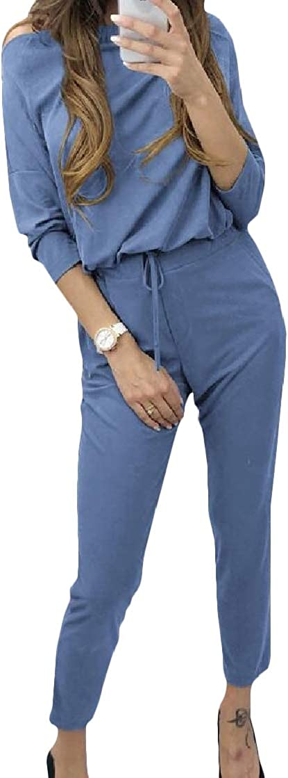 CrazyDayWomen Casual Commute Silm Fit Solid Color Oversize Top Romper Bodysuit