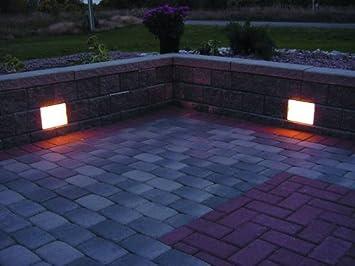 Kerr Lighting Retaining Wall Light 6u0026quot; x 8u0026quot; - 4 Pack Kit - For & Amazon.com : Kerr Lighting Retaining Wall Light 6