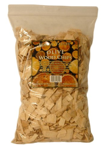 Jansal Valley Olive Wood Chips, 32 Ounce
