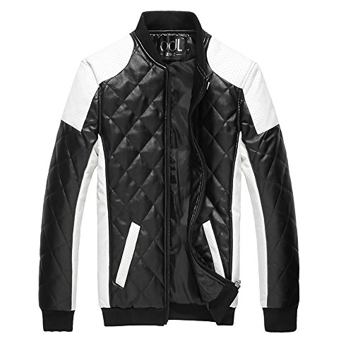 Cloudstyle latticed Baseball Bomber Jacket