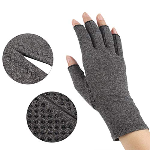 Magnetic Anti Arthritis Health Compression Therapy Gloves Relief Rheumatoid Hand Pain for Women & Men (Tag S) (Magnetic Arthritis Gloves)