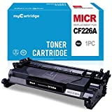 myCartridge Compatible MICR Toner Cartridge Replacement for HP 26A (HP CF226A) for use in HP LaserJet Pro M402n M402d M402dn M402dw M426fdw M426dw MFP Printer