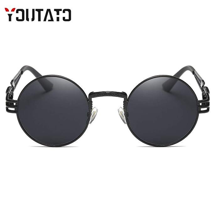 Amazon.com: Gafas de sol redondas y polarizadas para ...