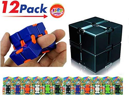 2GoodShop Kubix Speed Cube by JA-RU   Fidget Cube Flip It Endlessly Pack of 12   Item #3802 by 2GoodShop (Image #7)