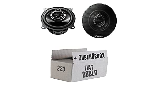 Fiat Doblo - Pioneer TS-g1033i - 10 cm 3-en - juego de altavoces coaxiales: Amazon.es: Electrónica