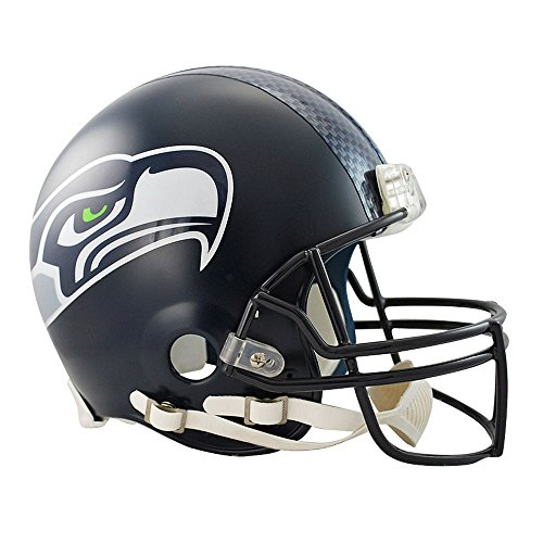 Seattle Seahawks Officially Licensed NFL Proline VSR4 Authentic Football Helmet by Riddell