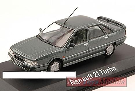 Norev NV512115 Renault 21 Turbo 1988 Antracite Grey 1:43 MODELLINO Die Cast: Amazon.es: Juguetes y juegos