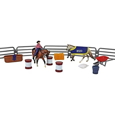 Breyer Stabemates Western Horse Play Set: Toys & Games