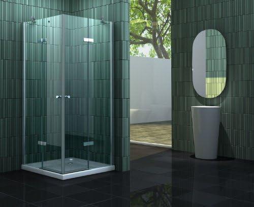 Mampara de ducha sin 90 x 75 x 180 cm NEOTEC: Amazon.es: Bricolaje ...