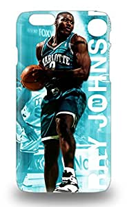 Popular Iphone New Style Durable Iphone 6 3D PC Case NBA Charlotte Hornets Larry Johnson #2 ( Custom Picture iPhone 6, iPhone 6 PLUS, iPhone 5, iPhone 5S, iPhone 5C, iPhone 4, iPhone 4S,Galaxy S6,Galaxy S5,Galaxy S4,Galaxy S3,Note 3,iPad Mini-Mini 2,iPad Air )