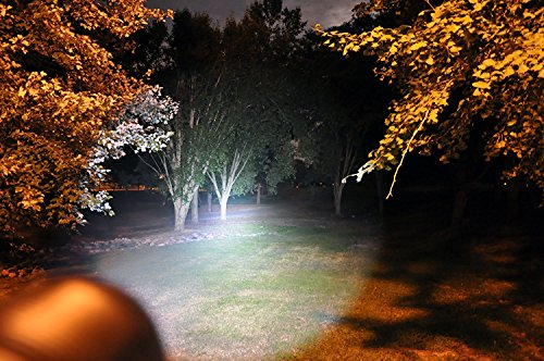Handheld LED Emergency Flashlights – Professional Series ZX-2XL - Super Bright High Lumen Kit – 5 Light Modes, Adjustable Focus, Outdoor Water Resistant – Perfect for Camping, Hiking and Household Use by Solaray (Image #5)