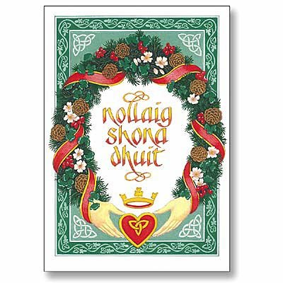 Celtic christmas cards christmas greetings in the irish language m4hsunfo