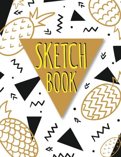 Sketchbook: Blank Drawing Book 108 Pages Large Print 8.5