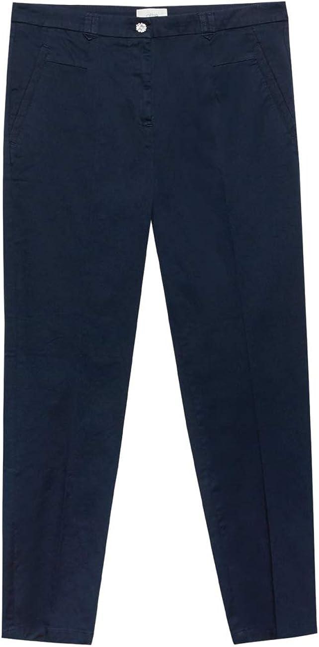 Pantaloni a Sigaretta in Cotone Oltre Italian Size