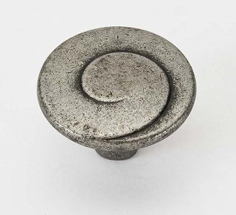 Pomo para muebles, de aleación de cinc, aluminio, magnesio y cobre (zamak), línea Decor, serie 602: Amazon.es: Bricolaje y herramientas