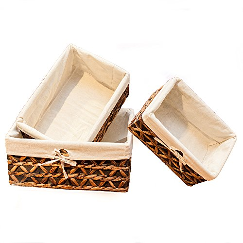 Kingwillow Rectangular Seagrass Storage Baskets product image